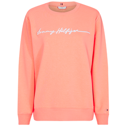 Sweatshirt Annie Relaxed C-Nk Long Sleeve Rosa