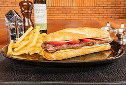 Sándwich de Arrachera