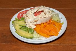 Ensalada de Verdura con Pollo