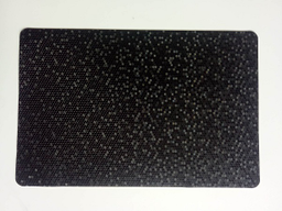 Mantel Individual Tridimensional Negro 1 U