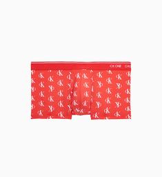 Bóxer CK One Rojo Logo - NB2225-608