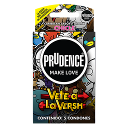 Prudence Preser Sabor Chicle 5 Pz