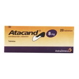 Atacand 28 Tableta(S)Candesartán Cilexetilo 8 Mg
