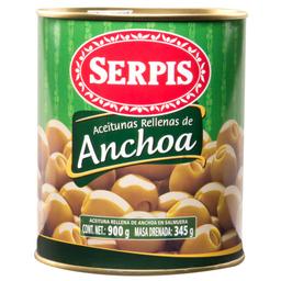 Aceitunas Serpis Rellenas de Anchoa 900 g
