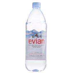 Agua Evian Mineral Natural 1 L