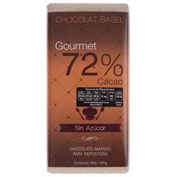 Chocolate Basel Amargo para Repostería Sin Azúcar 200 g