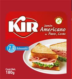 Kir Jamón Americano de Pavo y Cerdo