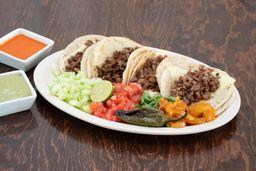 Tacos de Maíz Gratinados