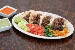 Tacos de Harina Gratinados