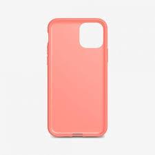 Funda Antibacterial Tech21 iPhone 11 Pro Max Color Rosa Coral
