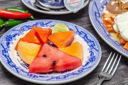 Plato Frutas Frescas de la Estación