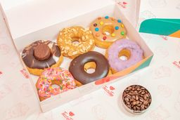 Media docena de donuts
