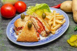 Sándwich Sanborns de Lujo