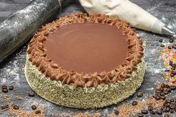 Pastel Café y Chocolate