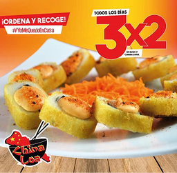 Sushis 3x2