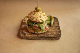 Hamburguesa Vegetariana Orgánica