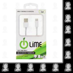 Cable Lime USB Tipo C 1 U