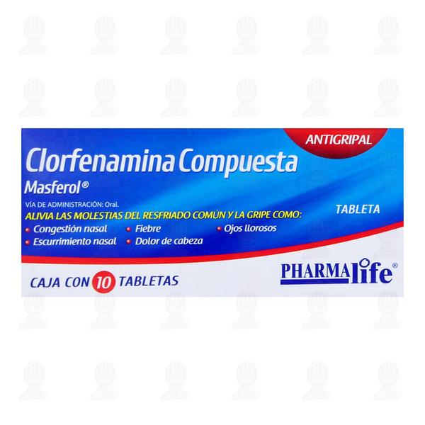 Pharmalife Clorfenamina Compuesta