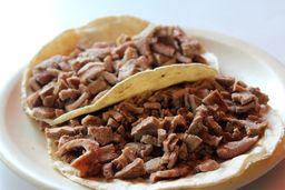 Taco de Bistec (2 pz.)