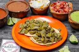 Taco Nopal