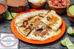 Pan Árabe con Chorizo