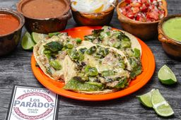 Taco Poblano con Bistec
