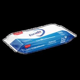 Toallitas Humedas Ecudo Antibacterial Con 50