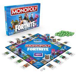 Hasbro Gaming Juego De Mesa Monopoly Fornite