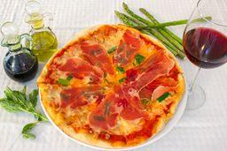 Pizza Proscuitto Asparagi