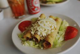 3 Tacos Dorados
