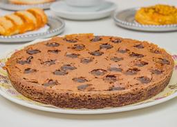 Pastel de brownie fudge