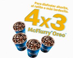 4x3 McFlurry de Oreo