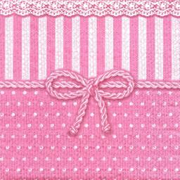 Servilleta Fina Con 3 Hojas 33 cm 3 U Rosa