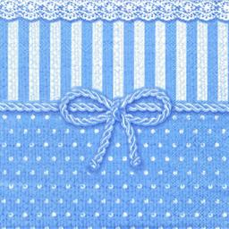 Servilleta Fina Con 3 Hojas 33 cm 3 U Azul