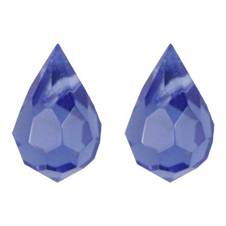 Gota Cristal Color 7x11 mm 100 U Zafiro