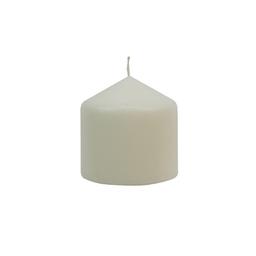 Vela Cirio Sin Aroma 7x7 cm Blanco