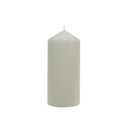 Vela Cirio Sin Aroma 15x7 cm Blanco