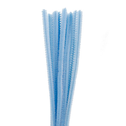 Chenille Natural Pp 9000 30 cm 12 U Azul Claro