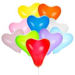 Globo Forma de Corazón 30 cm 10 U Surtido