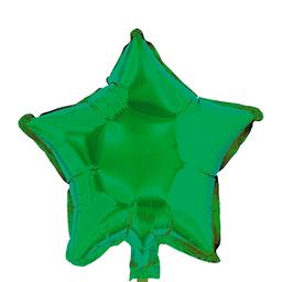 Globo Estrella 46 cm Verde