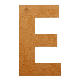 Letras Mayúsculas 12 cm E