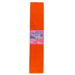 Papel Crepe 50 cm 2m Naranja