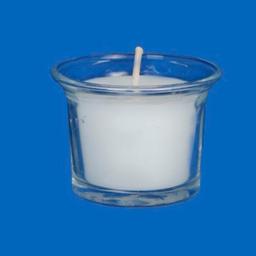 Veladora Cristal Decorativa 4.8x6.3 cm