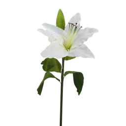 Flor Gigante Lily 1.40M Blanco