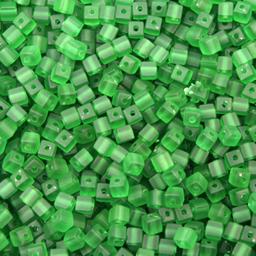 Cuenta Cuadro Mate 5 mm 500g (aprox 3,740 U) Verde Mate