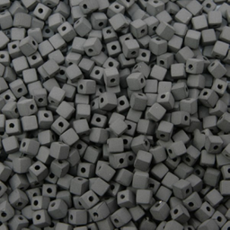 Cuenta Cuadro Mate 5 mm 500g (aprox 3,740 U) Negro Mate