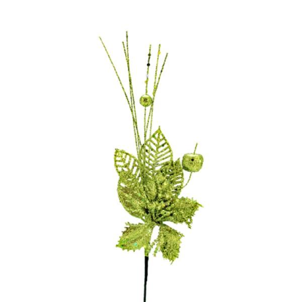Pick Navideño 28 cm Verde Lima