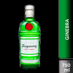 Ginebra London Dry Gin Tanqueray Botella 750 mL
