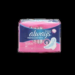 Toallas Femeninas Always Protección Total Dia Suave
