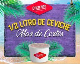 Ceviche mar de Cortés 1/2 Litro